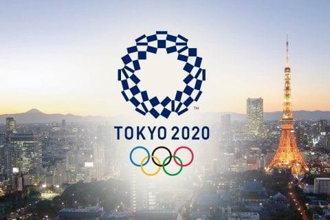 Logo das Olimpíadas de 2020. Foto: Shutterstock.