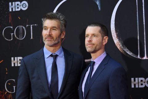 DB Weiss e David Benioff assinam contrato com Netflix e adaptarão clássico chinês. FOTO: Mike Coppola / Getty Images