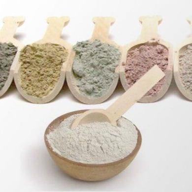 tipos de argilas