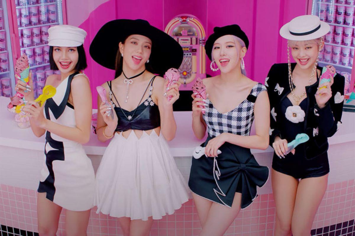 'Ice Cream', de Blackpink, marca a estreia do grupo nos EUA