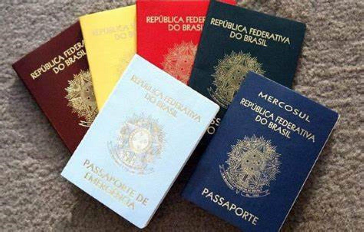 A importância das cores utilizadas nos passaportes