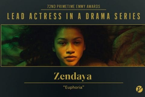 Zendaya é a mais jovem atriz a receber Emmy de melhor atriz em série dramática.