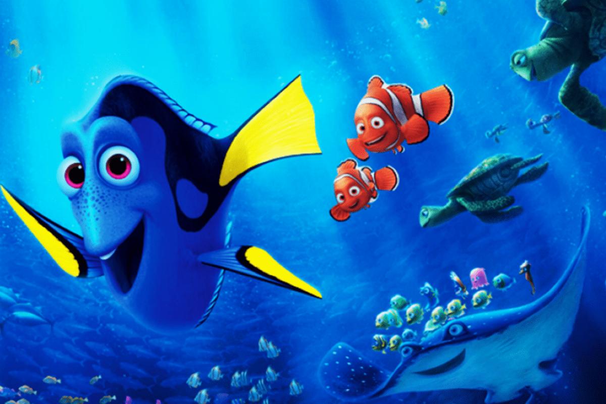 Procurando Dory Pixar