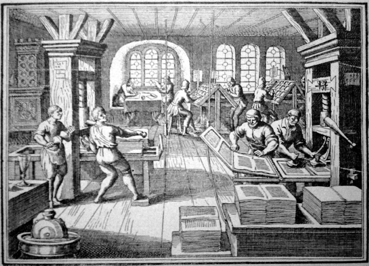 Quais foram as consequências do surgimento da prensa de Gutenberg?
