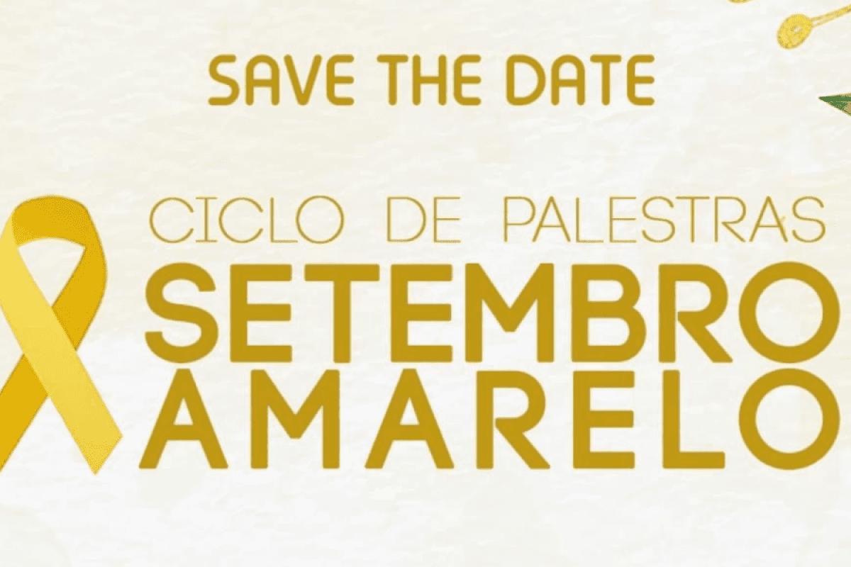 Setembro Amarelo: Atléticas Gávea e Fênix realizam ciclo de palestras