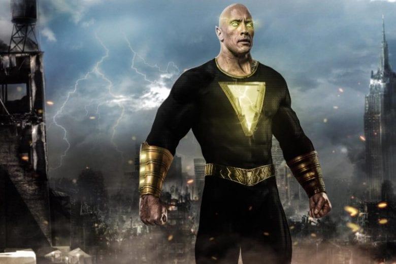 Dwayne Johnson como Black Adam. FOTO: Divulgação.