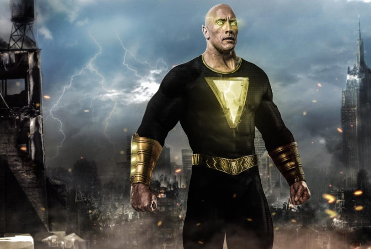 Dwayne Johnson como Black Adam