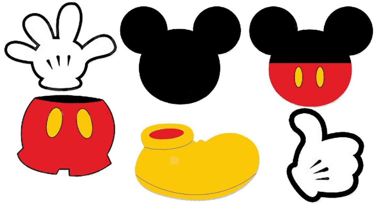 Por que o Mickey Mouse usa luvas?