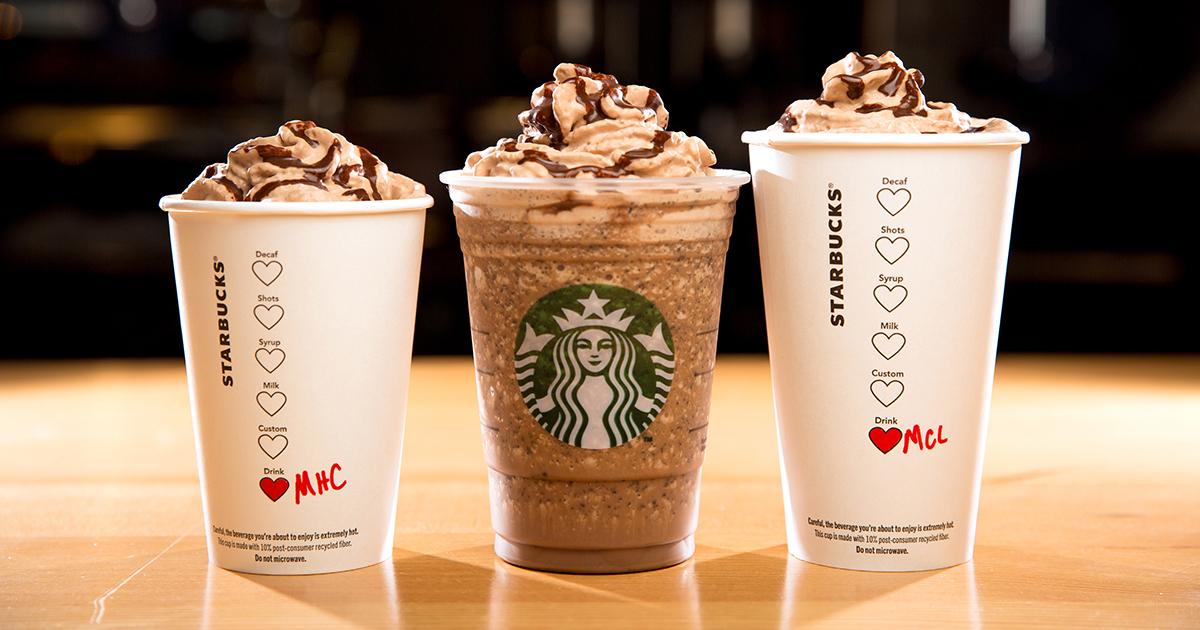 Conheça as 5 melhores bebidas do Starbucks