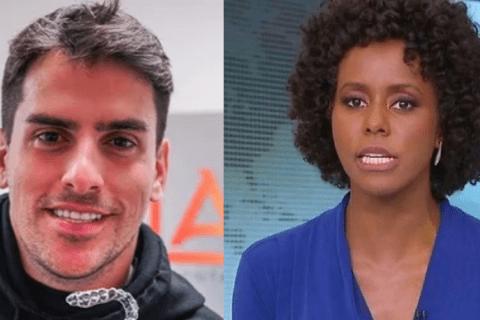 Rodrigo Branco e Maju Coutinho