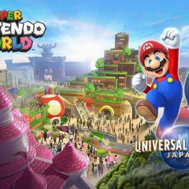 Super Nintendo World será inaugurado na primavera de 2021.