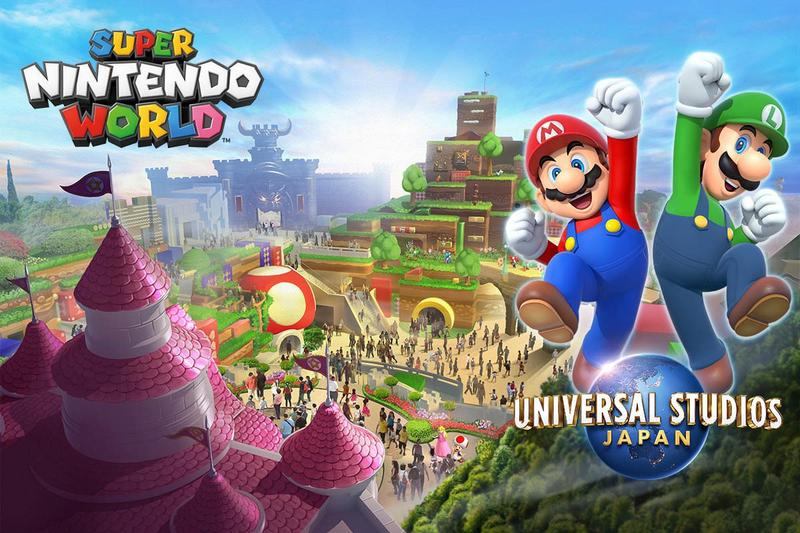 Super Nintendo World: parque japonês abrirá na primavera