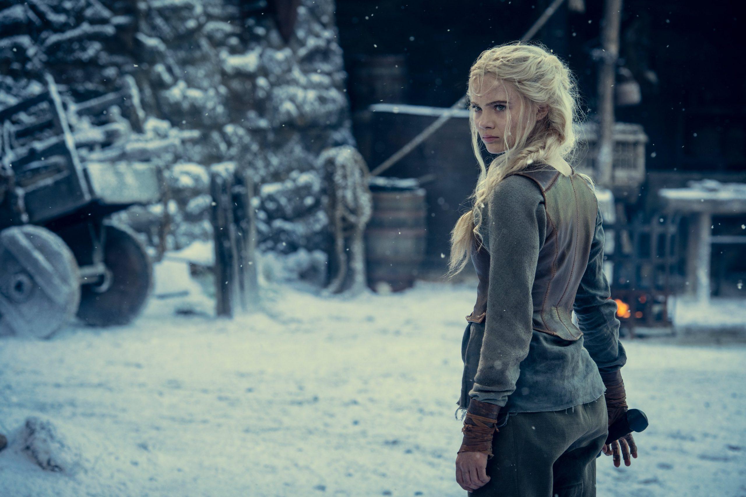 Visual de Cirilla para a próxima temporada de The Witcher. FOTO: Twitter