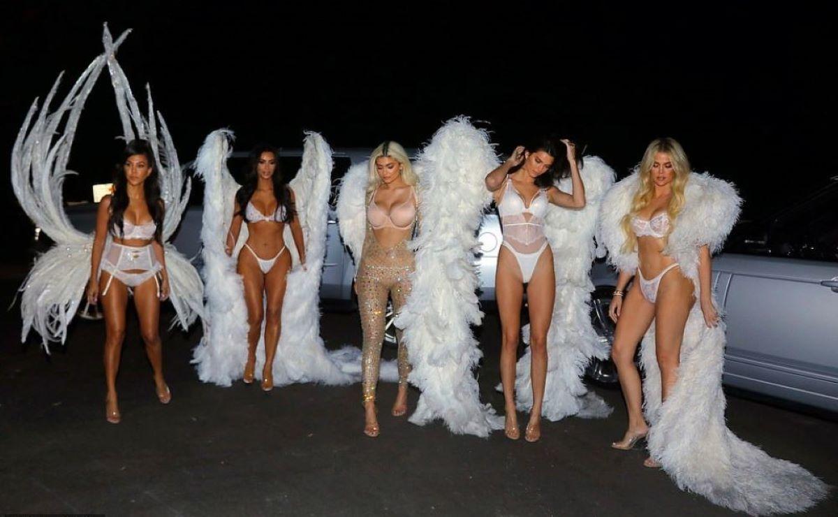 Kardashians de Angels da Victoria's Secret
