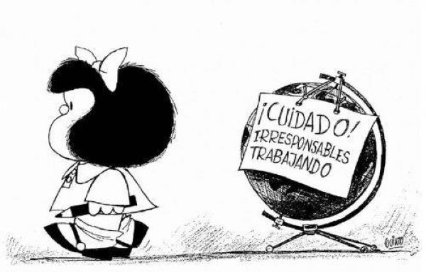 Mafalda tirinha