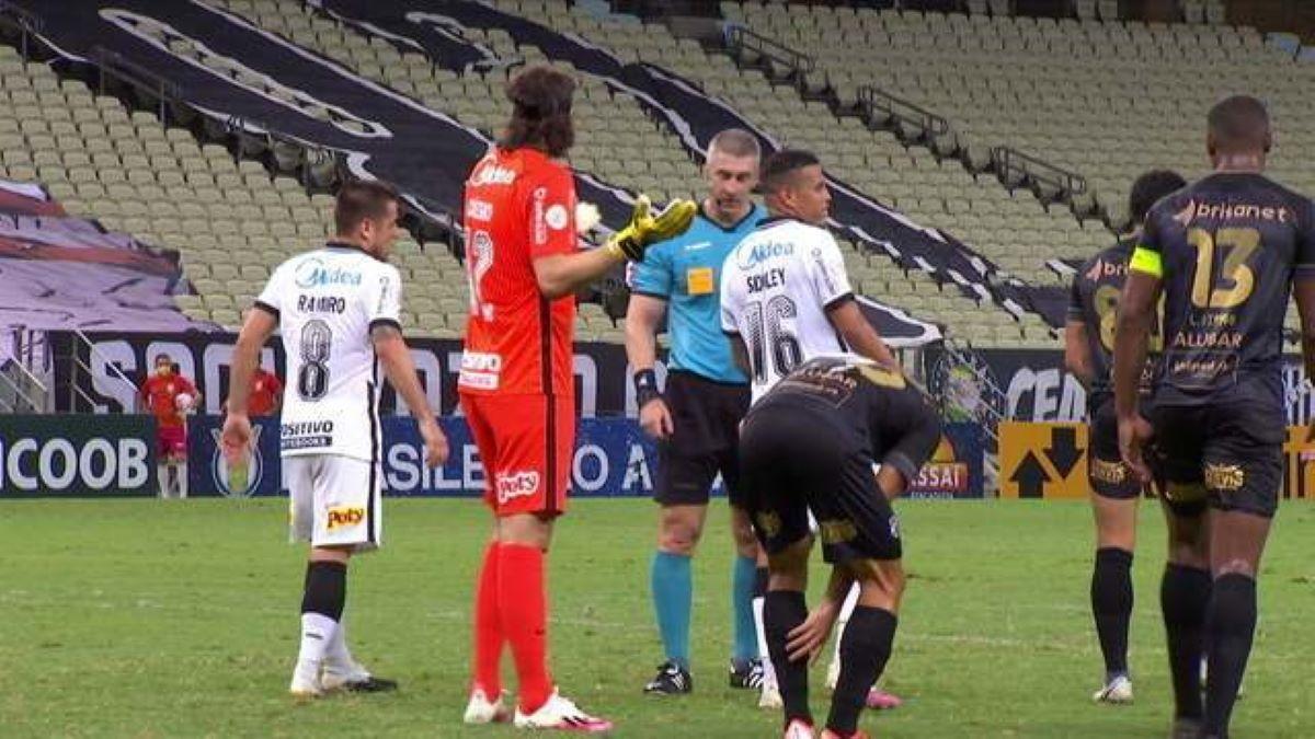 Ceará 2 x 1 Corinthians: Após nova derrota, Timão se encontra no Z-4