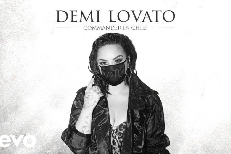 Demi Lovato lança música voltada diretamente ao presidente americano, Donald Trump. FOTO: Reprodução