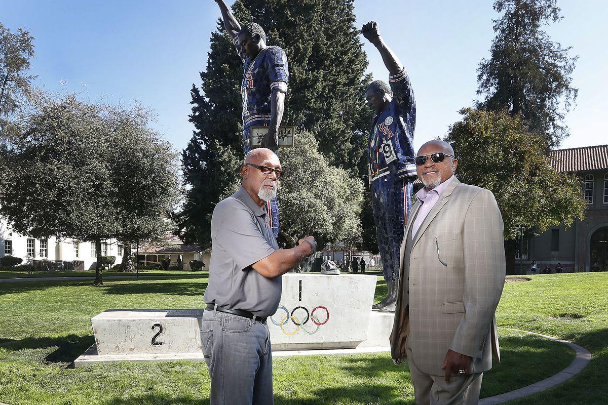 pódio olímpico icônico