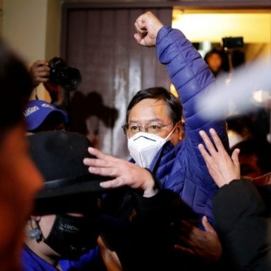 Luis Arce, ex-Ministro da Economia e Finanças Públicas da Bolívia, vence eleições presidenciais. Foto: Ueslei Marcelino/Reuters