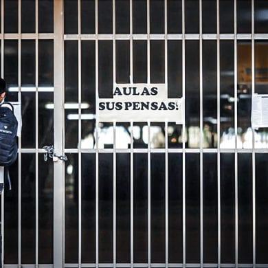 Escolas no Rio de Janeiro têm aulas suspensas após casos de COVID-19. Foto: Adriano Machado/Agência Brasil