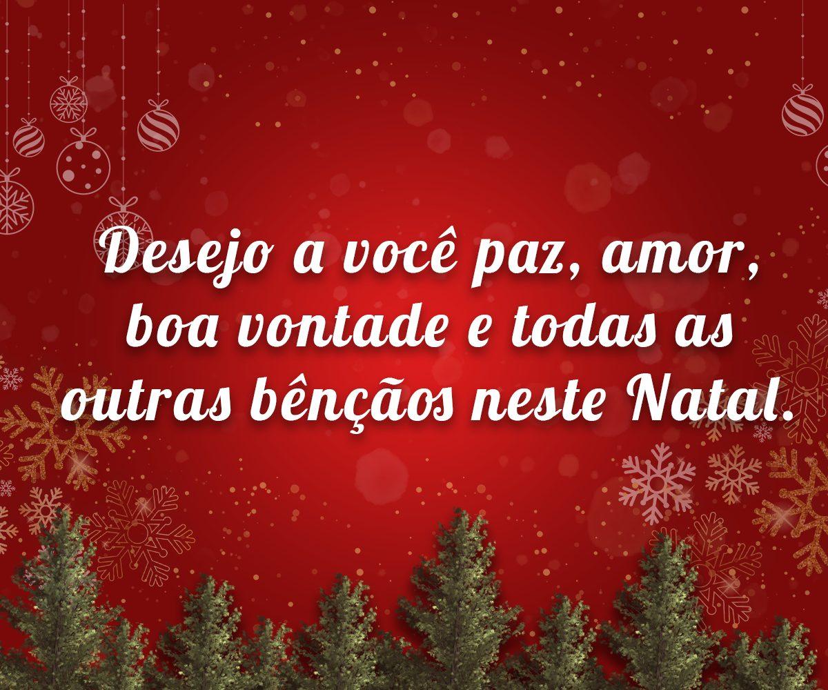 Mensagem de Natal para Família.