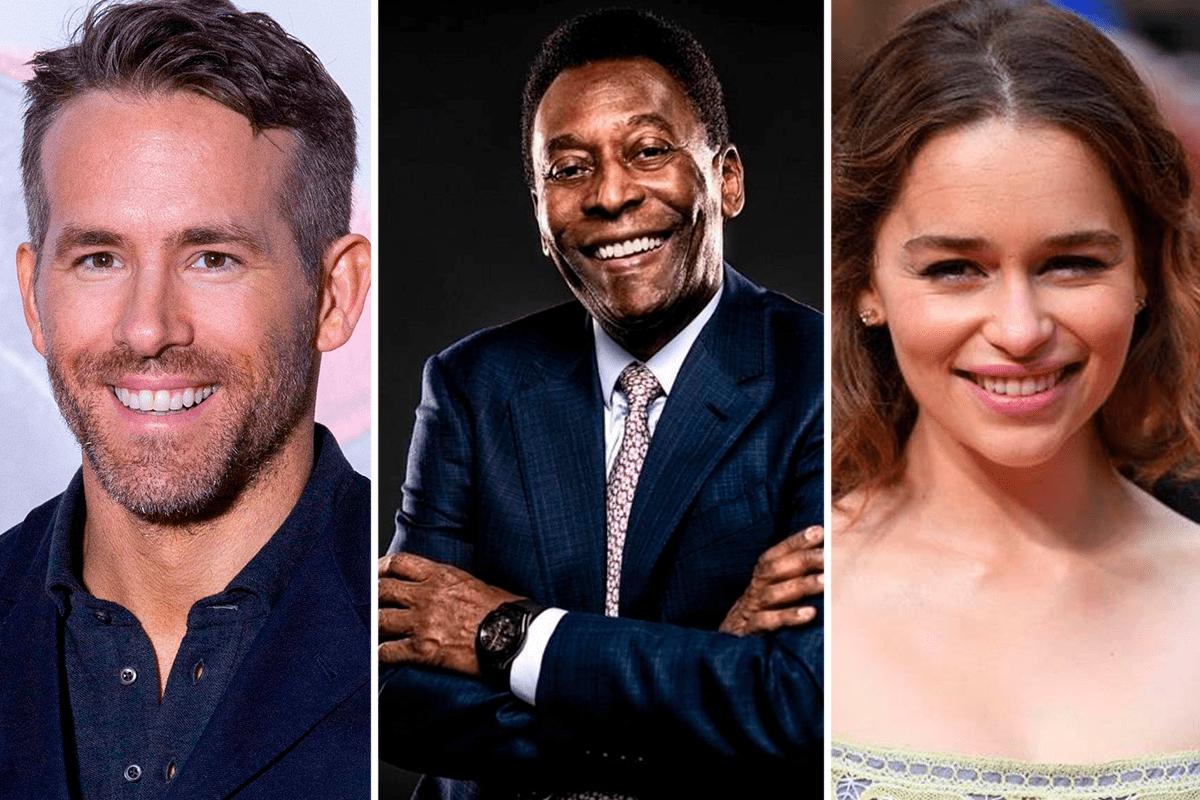 Ryan Reynolds, Pelé e Emilia Clarke: famosos fazem aniversário hoje