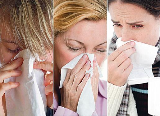 rinite sintomas