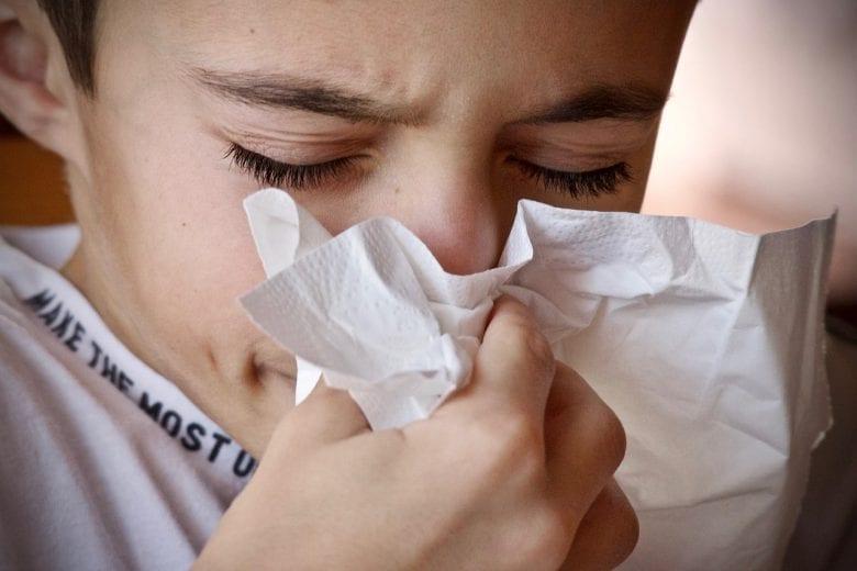 alergia ou rinite