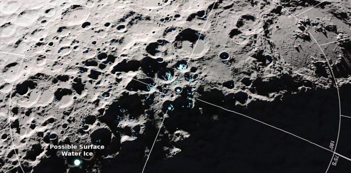 Nasa encontra água na Cratera Clavius da Lua; confira