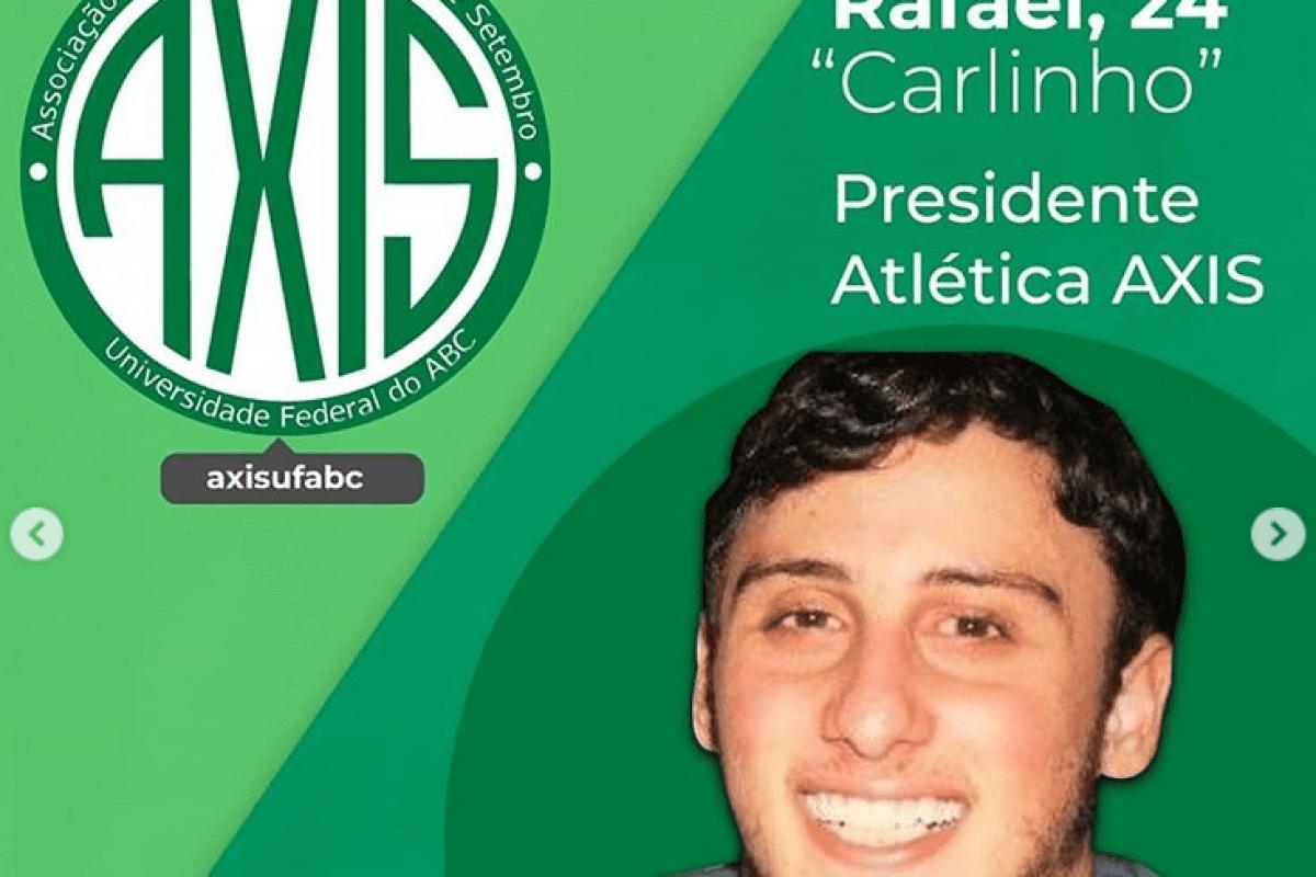 Fala! Presida entrevista presidente da Atlética AXIS, da UFABC
