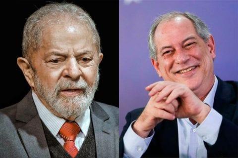 Lula e Ciro Gomes se reuniram em São Paulo para discutir pandemia e governo Bolsonaro. Foto: Montagem / Exame