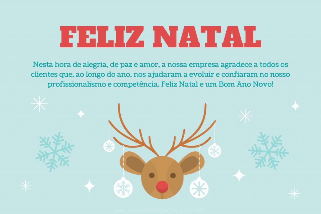 Frases e mensagens de Feliz Natal para Clientes.