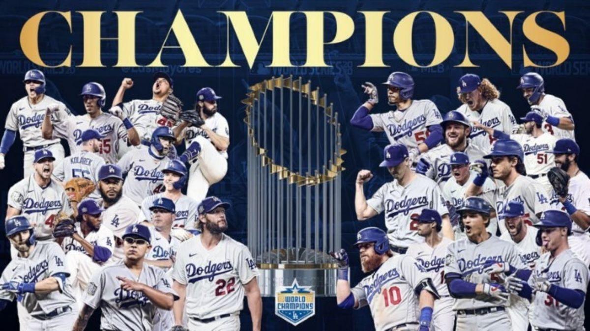 Los Angeles Dodgers é o grande campeão da World Series 2020