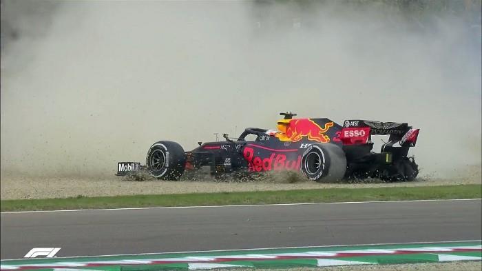 abandono de Verstappen