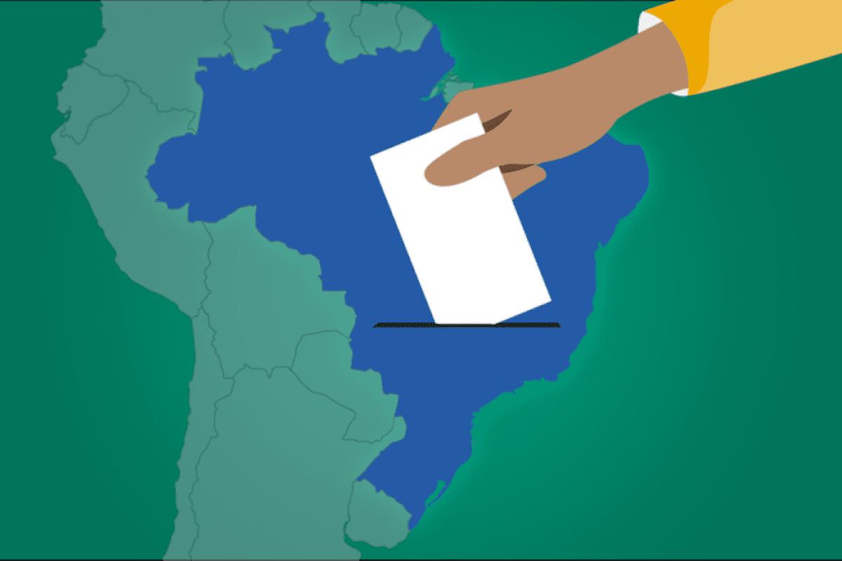Como seria a eleição brasileira de 2018 se fosse o sistema dos EUA