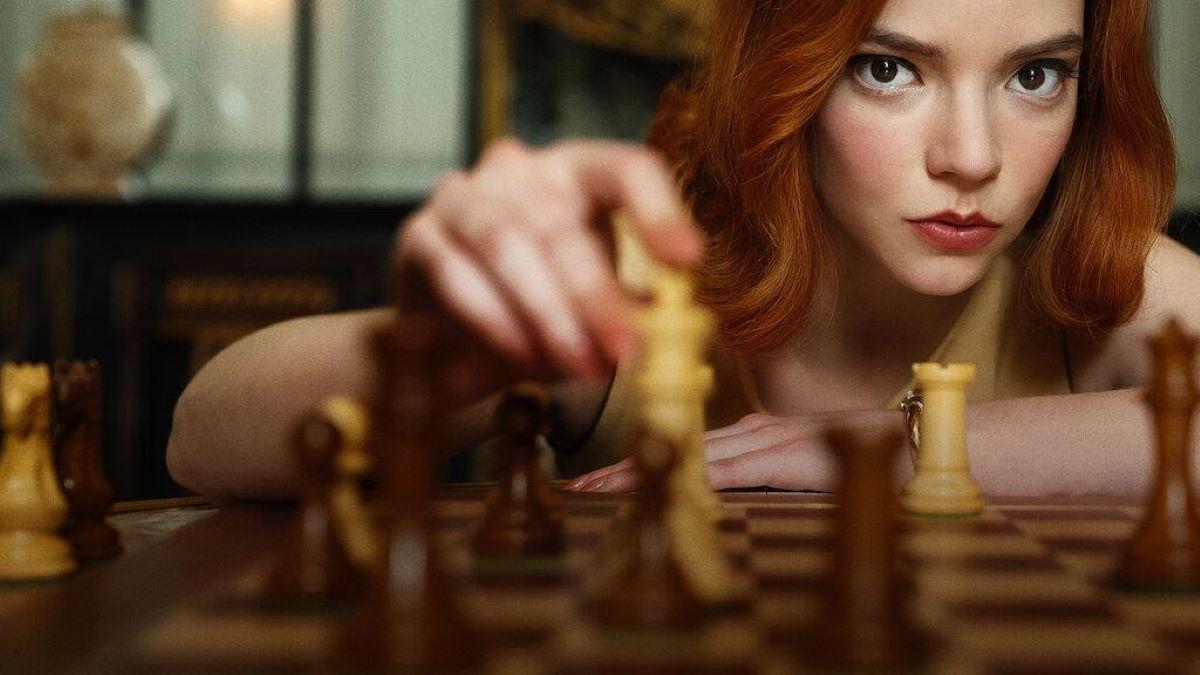 o gambito e a rainha netflix