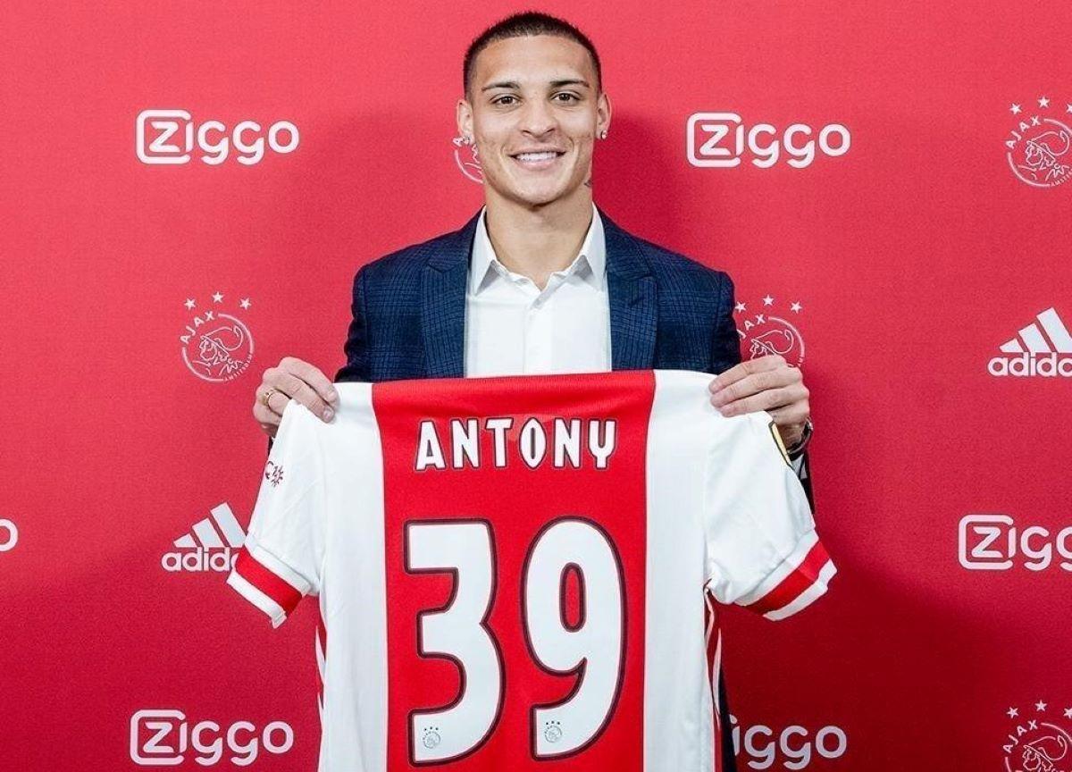 A evolução de Antony, ex-jogador do São Paulo