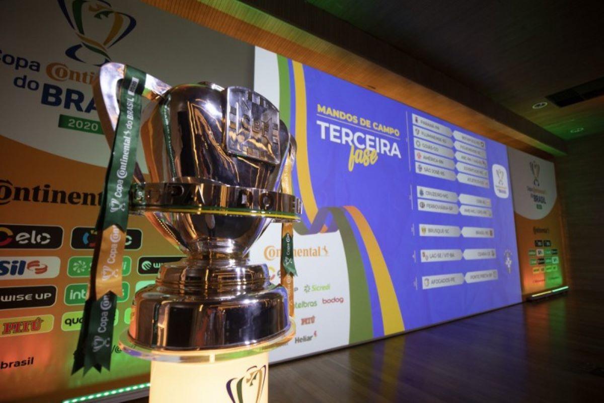 As quartas de final da Copa do Brasil foram definidas na sexta-feira
