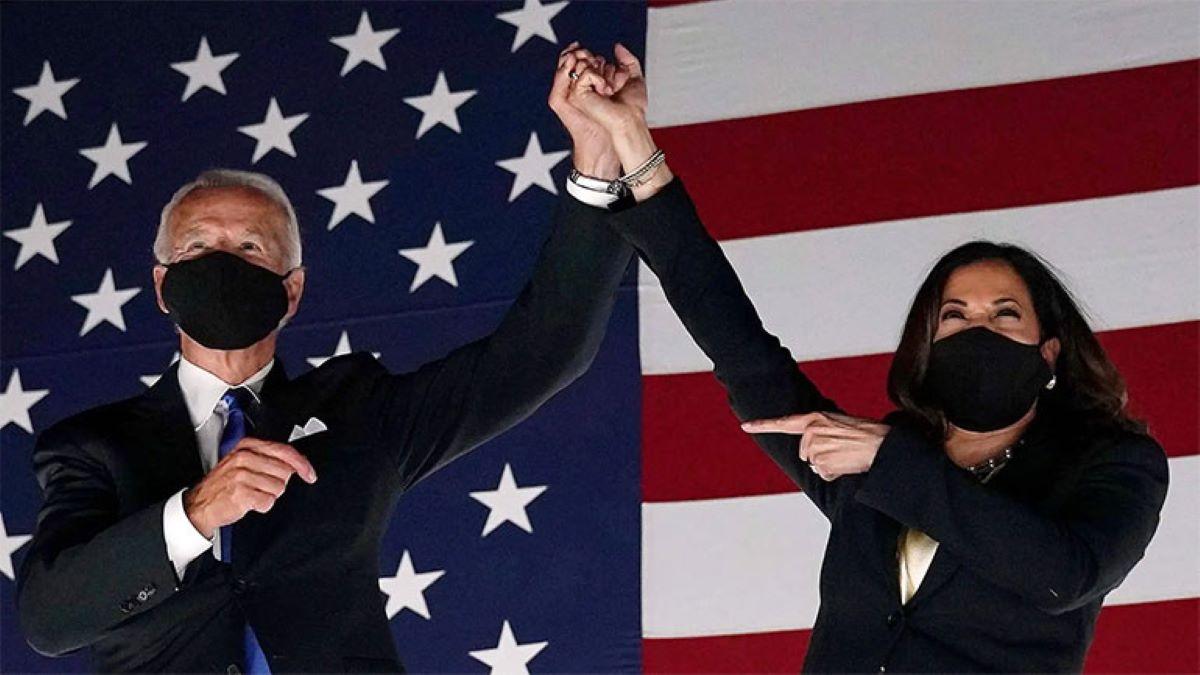 Biden é eleito e Kamala Harris é 1ª mulher vice-presidente nos EUA