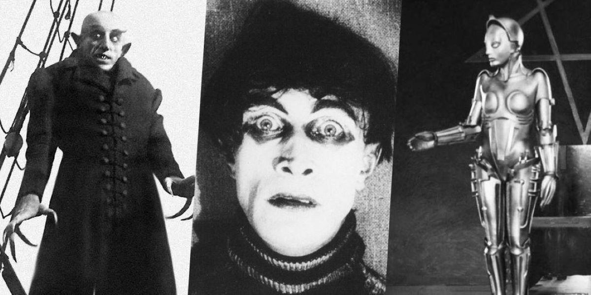Como o expressionismo alemão impactou os filmes de ficção científica?