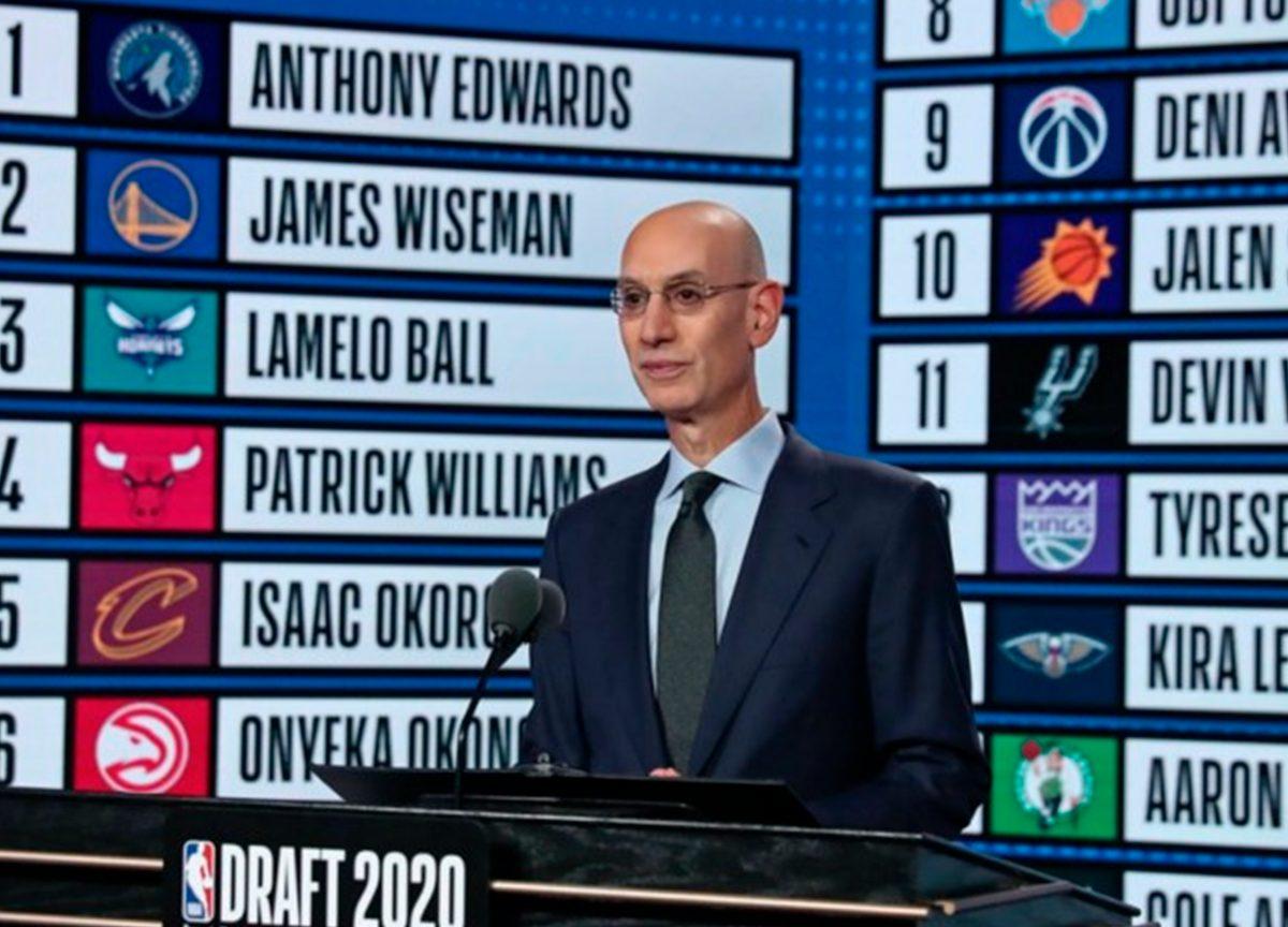 NBA Draft 2020: confira as cinco primeiras escolhas