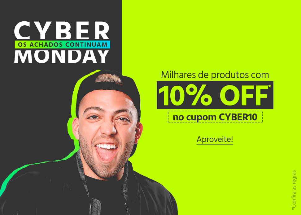 A Submarino é uma das lojas online que está com descontos para a Cyber Monday.