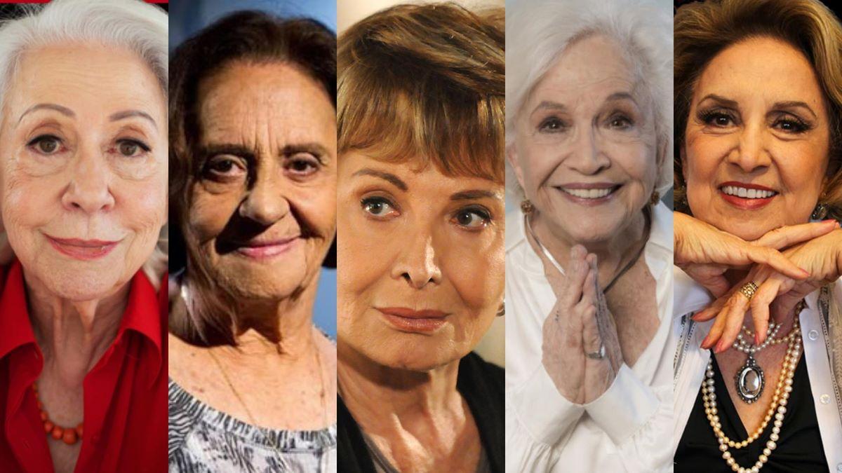 Atrizes marcantes: veteranas fazem história na TV brasileira