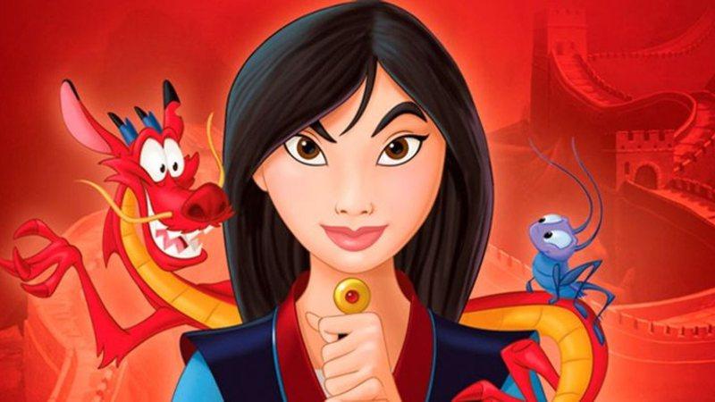 Mulan é uma princesa guerreira da Disney, popular por sua força e coragem.