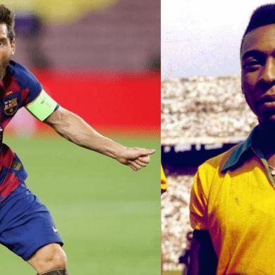 Messi e Pelé