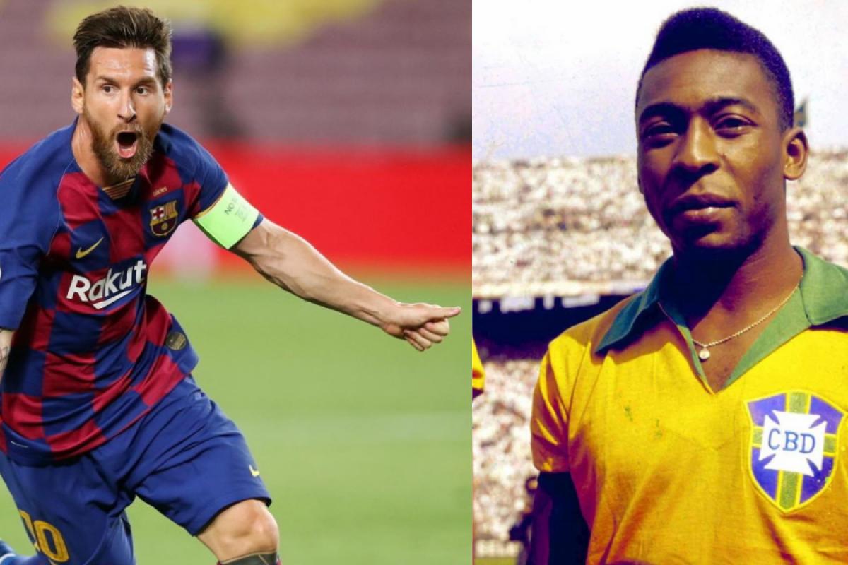 Messi se iguala a Pelé em número de gols por um único time