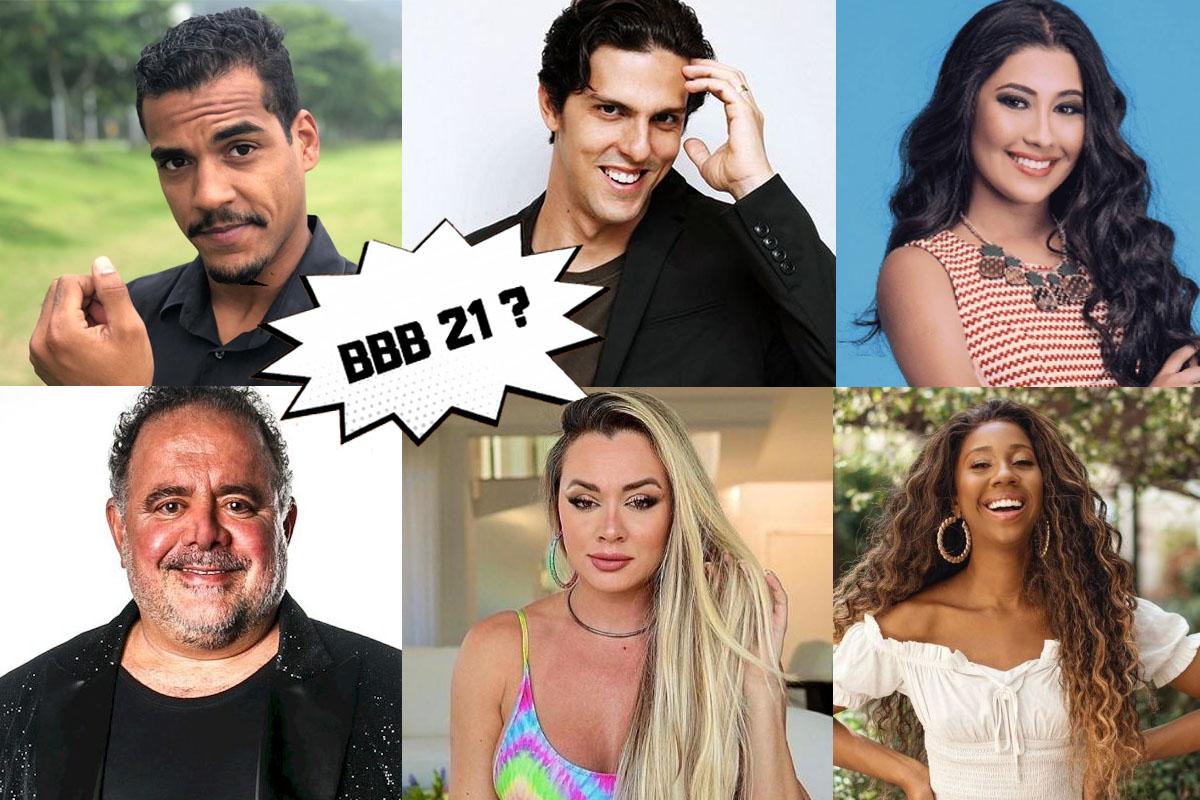 BBB21 estreia dia 25/01. Veja os famosos que podem  ser participantes