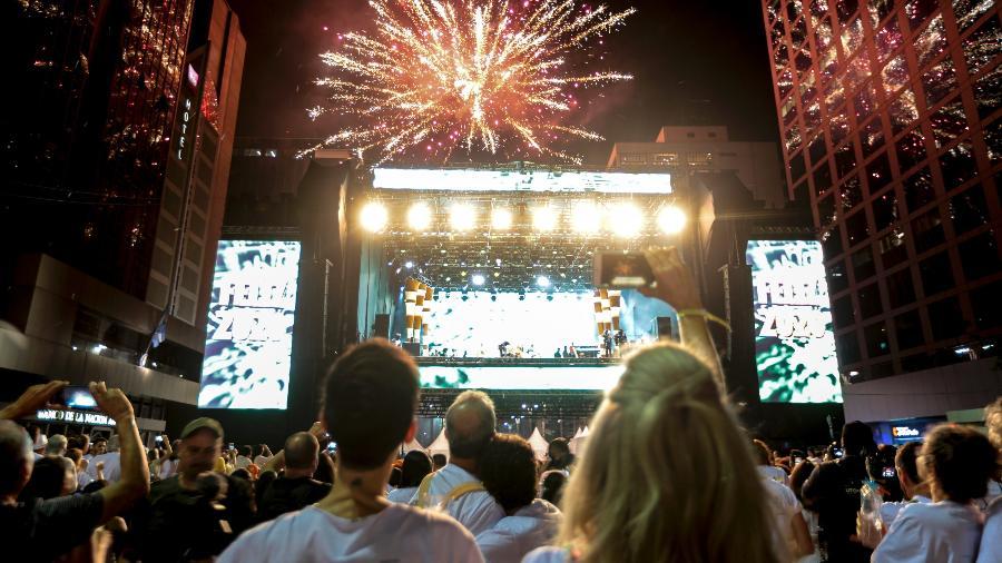 Os shows e festas de fim de ano em São Paulo foram cancelados presencialmente.