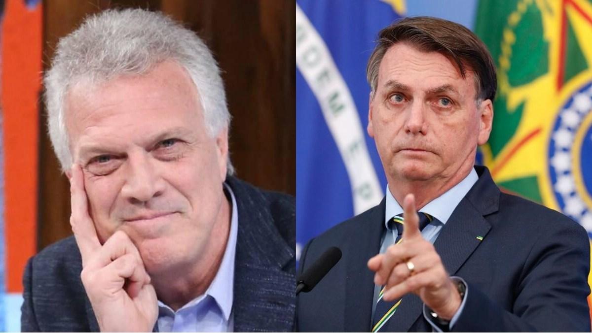 Pedro Bial: apresentador faz críticas a Bolsonaro em seu programa