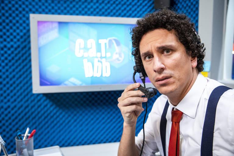 O humorista Rafael Portugal voltará para o BBB21.